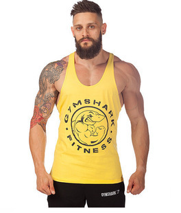 2015 gym vest bodybuilding clothing and fitness men tank tops golds gym brand high quality 100