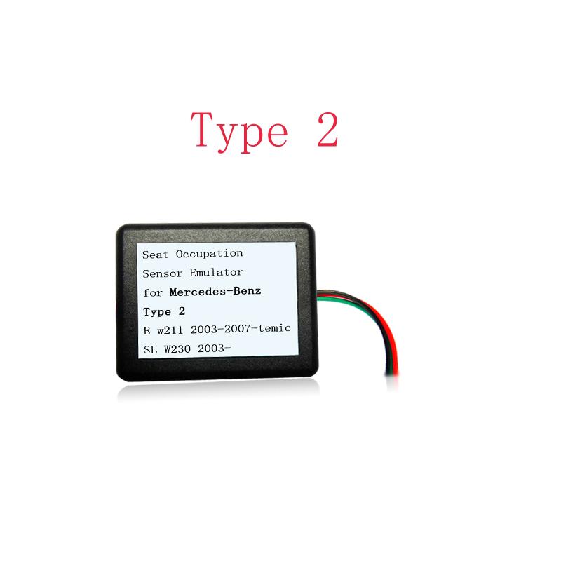 MB SRS Emulator Type 2 for Mercedes benz E W211 SL W230 SLK W171 seat emulator Airbag reset tool(China (Mainland))
