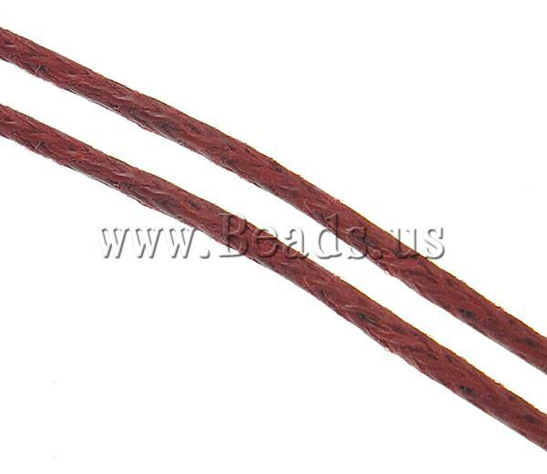 Free shipping!!!Wax Cord,quality, red, 1mm, Length:80 Yard, Sold By PC