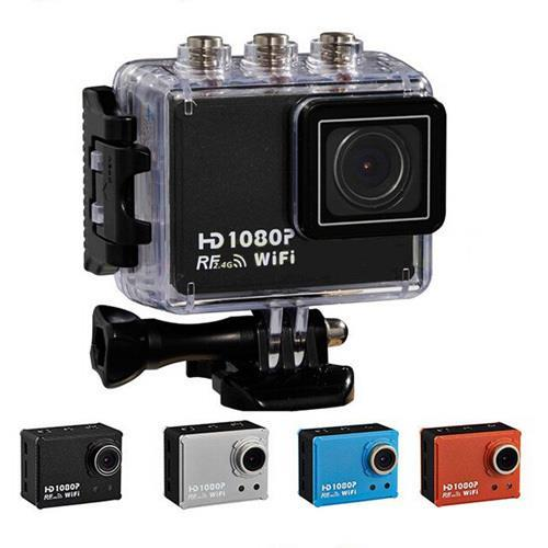 AT200 WiFi Action Camera With SJ4000 Style And Control Waterproof 1080P Sport Diving Mini DV Video Camcorder(China (Mainland))