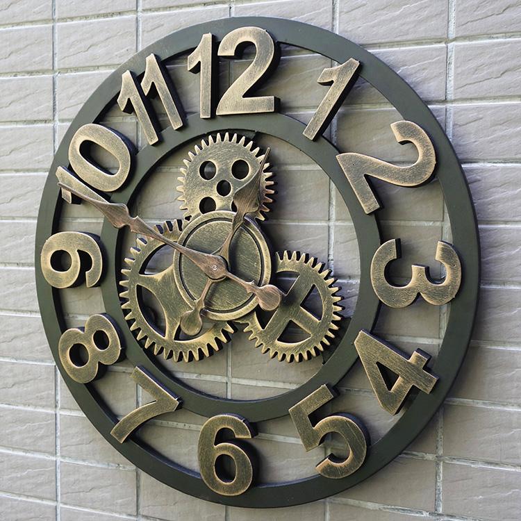 Reloj de engranajes compra lotes baratos de reloj de for Grande horloge murale pas cher