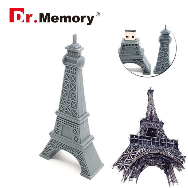 HOT sale USB stick Eiffel Tower pen drive Paris tower model USB flash drive 4gb 8gb 16gb 32gb pendrive free shipping flash card(China (Mainland))