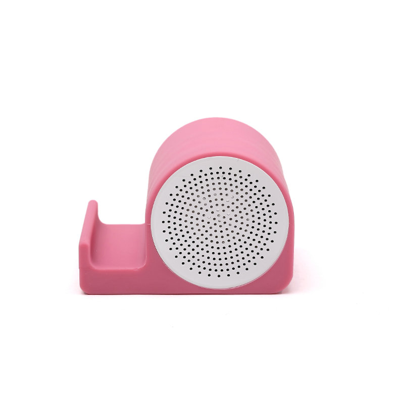 2017Portable Mini Wireless Bluetooth speaker handsfree speaker With Stand Dock Colorful Stereo Audio Player For iphone Tablet PC(China (Mainland))