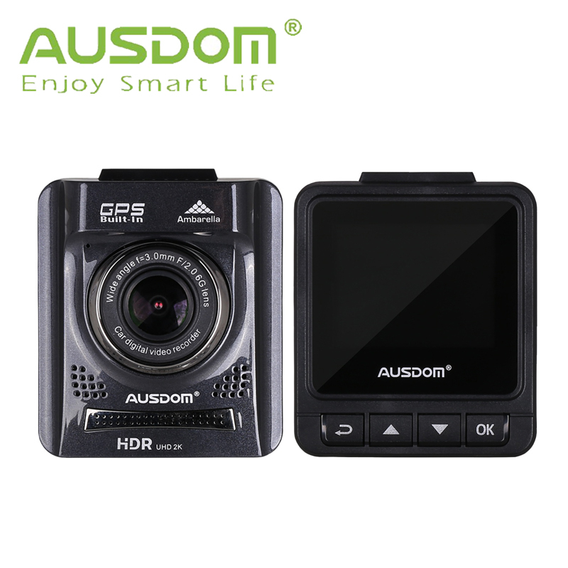 Full HD Car DVR Camera AUSDOM A261 2.0'' TFT digital video recorder GPS+HDMI+130 viewing angle+Motion Detection+Night Vision(China (Mainland))