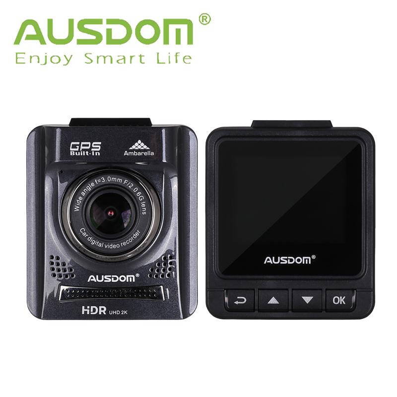 Full HD Car DVR Camera AUSDOM A261 2.0'' TFT digital video recorder GPS+HDMI+130 viewing angle+Motion Detection+Night Vision(China (Mainland))