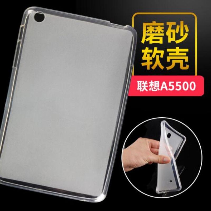 Newest Fashion High Quality Transparent TPU Back Cover Case For Lenovo tab a8 A5500 A8-50 A5500-h Soft Silicone Tablet Case(China (Mainland))