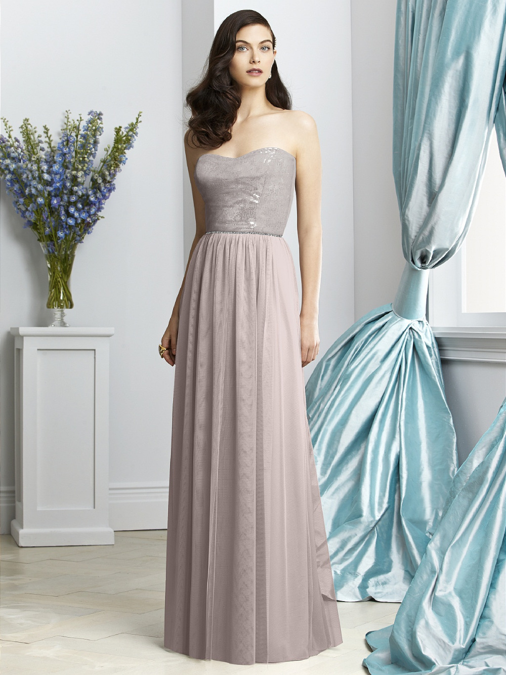 Simple long bridesmaid dresses organza cheap bridesmaid for Formal long dresses for weddings