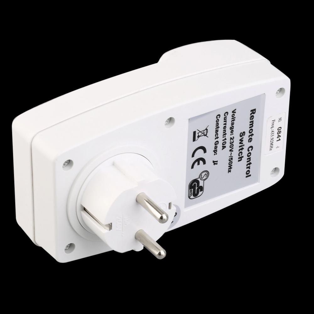 4 Wireless Remote Control Sockets Switch +Transmitter EU Plug Home Mains(China (Mainland))