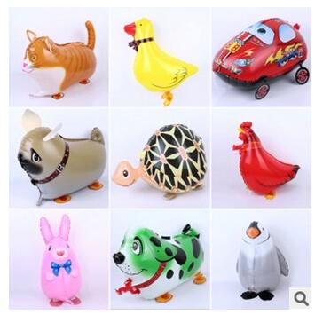 Aluminum balloons walking pet balloon wholesale space party wedding decoration birthday gift baby toys(China (Mainland))