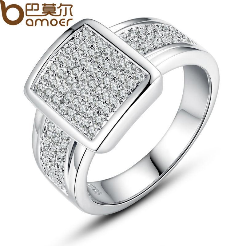 aliexpress buy bamoer luxury platinum plated big