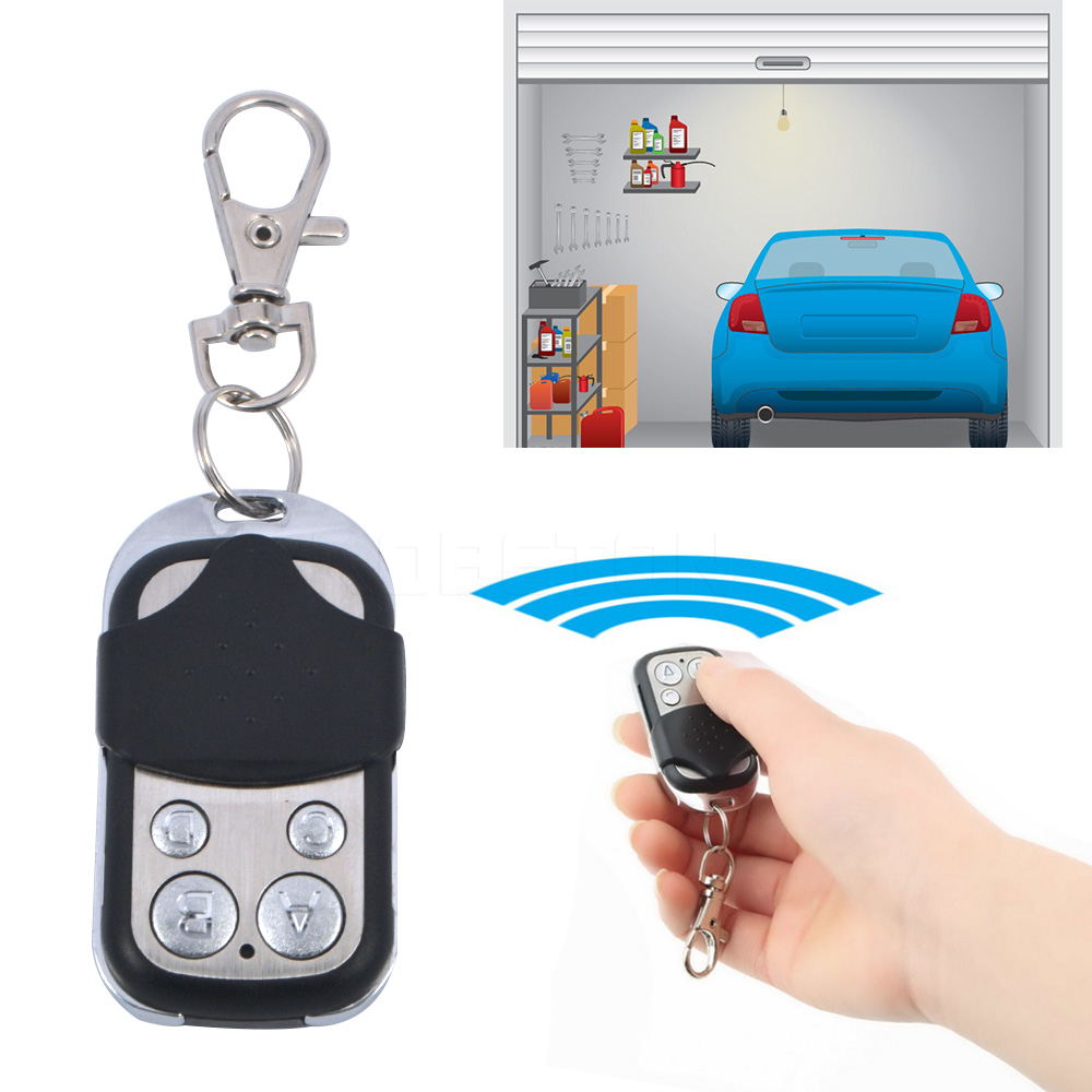 Copy code Remote 4 channel universal Electric cloning duplicator 433 mhz Key Fob learning garage door copy controller <br><br>Aliexpress