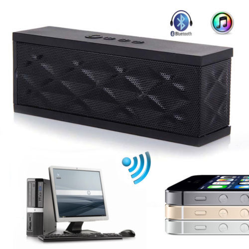 Wireless portable stereo mini hifi bluetooth speaker Jambox style outdoor subwoofer loudspeakers boombox iphone notebook JF - Favorbest store