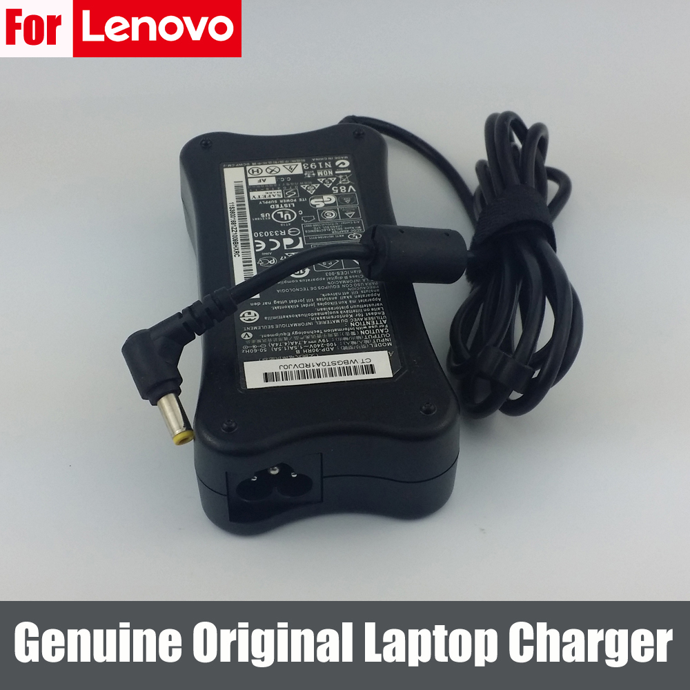 Genuine Original 90W 19V 4.74A AC Adapter Power Supply Charger for Lenovo IdeaPad 5.5*2.5mm(China (Mainland))