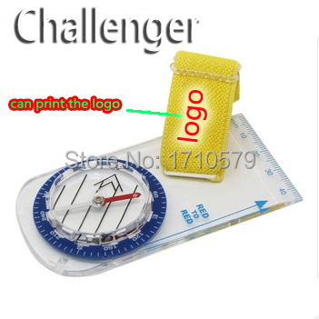 CHALLENGER New Hot Sell Orienteering Compass Camping Map Compass Orienteering Compass free shipping(China (Mainland))