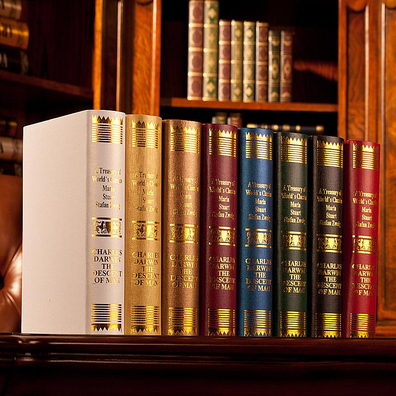 European Darwin decorative bookcase books photography new house ornaments props simulation study book fake book book box mold(China (Mainland))