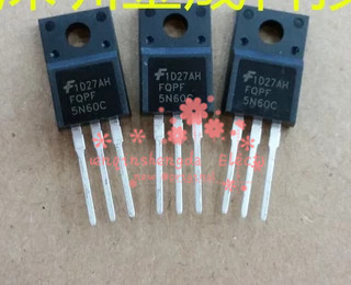 10PCS FQPF5N60C 5N60C 5N60 MOSFET N-CH 600V 4.5A TO-220F(China (Mainland))