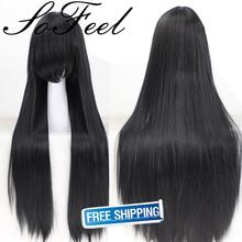 Sofeel goods in stock k-on Akiyama Mio Nakano Azusa  Jigoku Shoujo supia-yisol Shakugan no Shana cosplay wigs free shipping(China (Mainland))