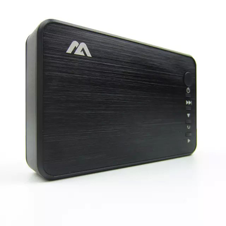 Mini Media Player 1080P HD Multi Media Player TV BOX 3 outputs HDMI/VGA/AV USB & SD card Free Shipping(China (Mainland))