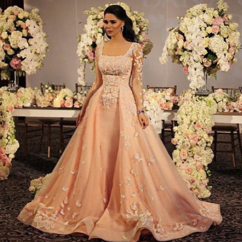 Robe soiree pour mariage arabe