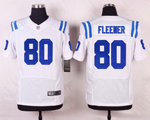 Indianapolis Colt Andrew Luck Johnny Unitas D'Qwell Jackson Trent Cole Erik Walden Andre Johnson Coby Fleener,and black styles(China (Mainland))