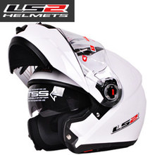 New helmet motocross helmet motorcycle LS2 helmet double lens ff370 latest version have bag 100% Genuine LS2 ff370(China (Mainland))