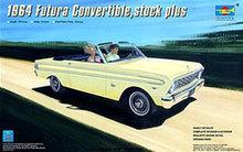 Modelo trompetista 02509 1/25 1964 convertible, stock plus car kit modelo de plástico
