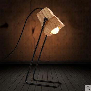Lampe Deco Simple Modern Wood Table Lamp For Bedroom Living Room Table Lamps,Abajur Lamparas De Mesa Tavolo<br><br>Aliexpress