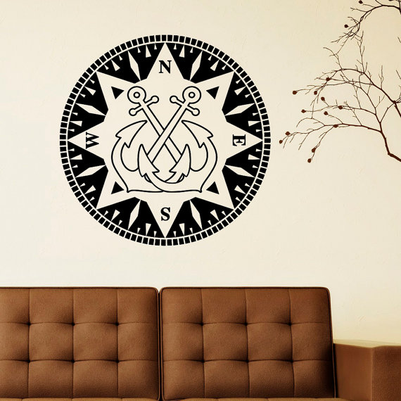 Wall Art Stickers East Rand : Popular nautical wall decals buy cheap