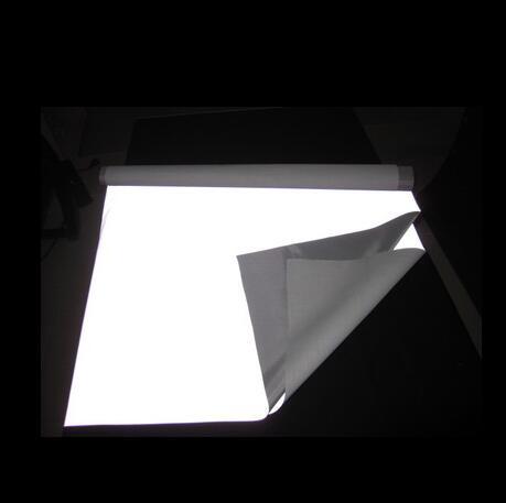Отражающей ткани световой светоотражающие серебро 100 * 100 см EN471 ANSI