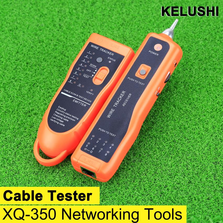 RJ45 RJ11 XQ-350 Ethernet Network Cable Tester Wire Tracker Lan Cable Finders(China (Mainland))