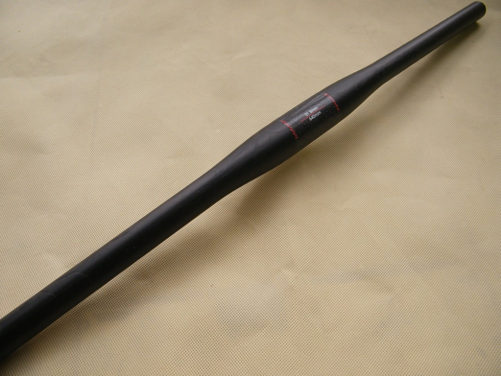 Matte UD full carbon handlebar MTB bike bicycle flat handlebar bars 600/620/640/660/680/700mm(China (Mainland))