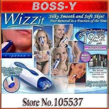 [MOQ 1pcs]Wizzit Hair Remover Manicure Set Auto Trimmer Tweezer  As Seen On TV  [free shiping]