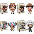 Funko POP One Piece Mini Anime Luffy Ace Law Chopper Vinyl PVC Collection Action Figure PVC