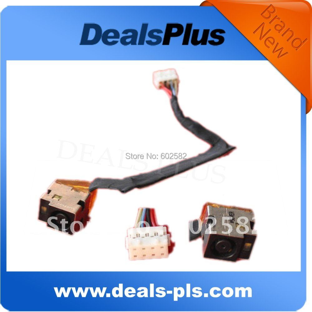 BRAND NEW FOR HP probook 4425s 4426s AC DC power jack plug connector Repair w./cable harness(China (Mainland))