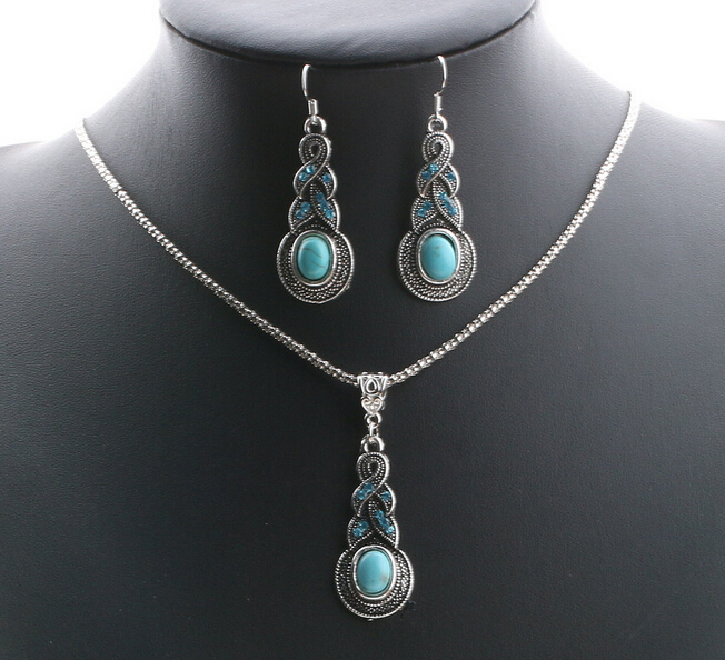 Cheap Fashion Jewelry Sets Cheap price turquoise beaded