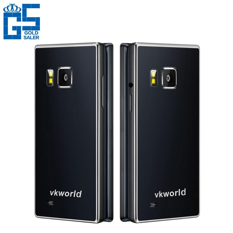 Original Vkworld vk T2 4.0 Inch 2050mAh Flip Cell Phone Android 5.1 MTK6580 Quad Core 1GB RAM 8GB ROM 13.0MP Dual SIM WCDMA(China (Mainland))