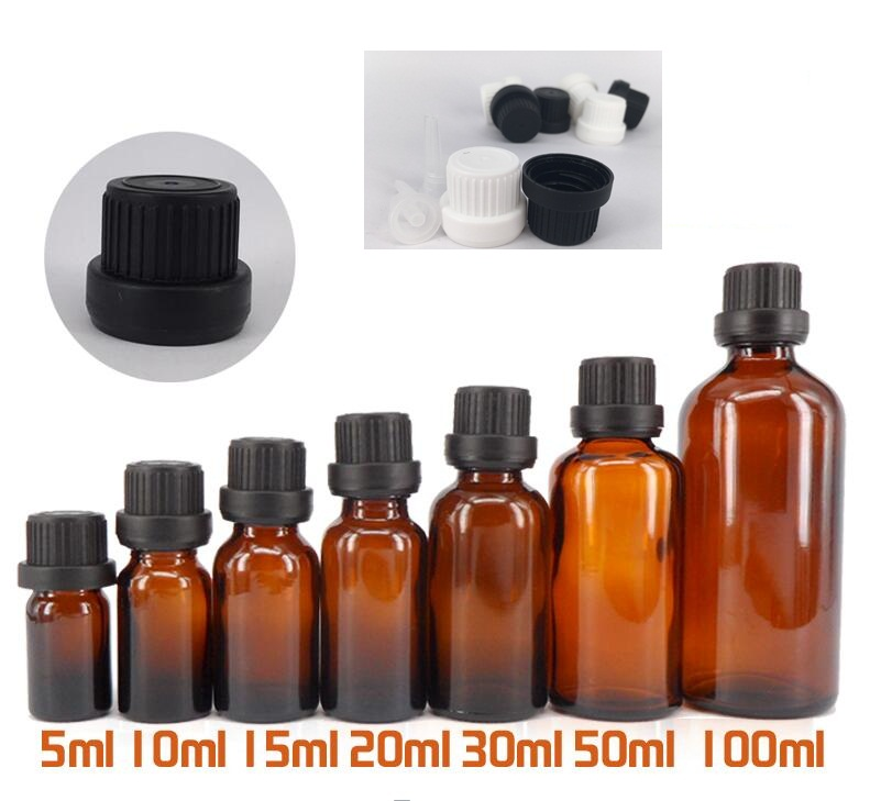 Perfume Refill Bottle Brown Glass Bottle Sample Perfume Bottles Shower Gel empty water fragrance oil Containers bottles(China (Mainland))