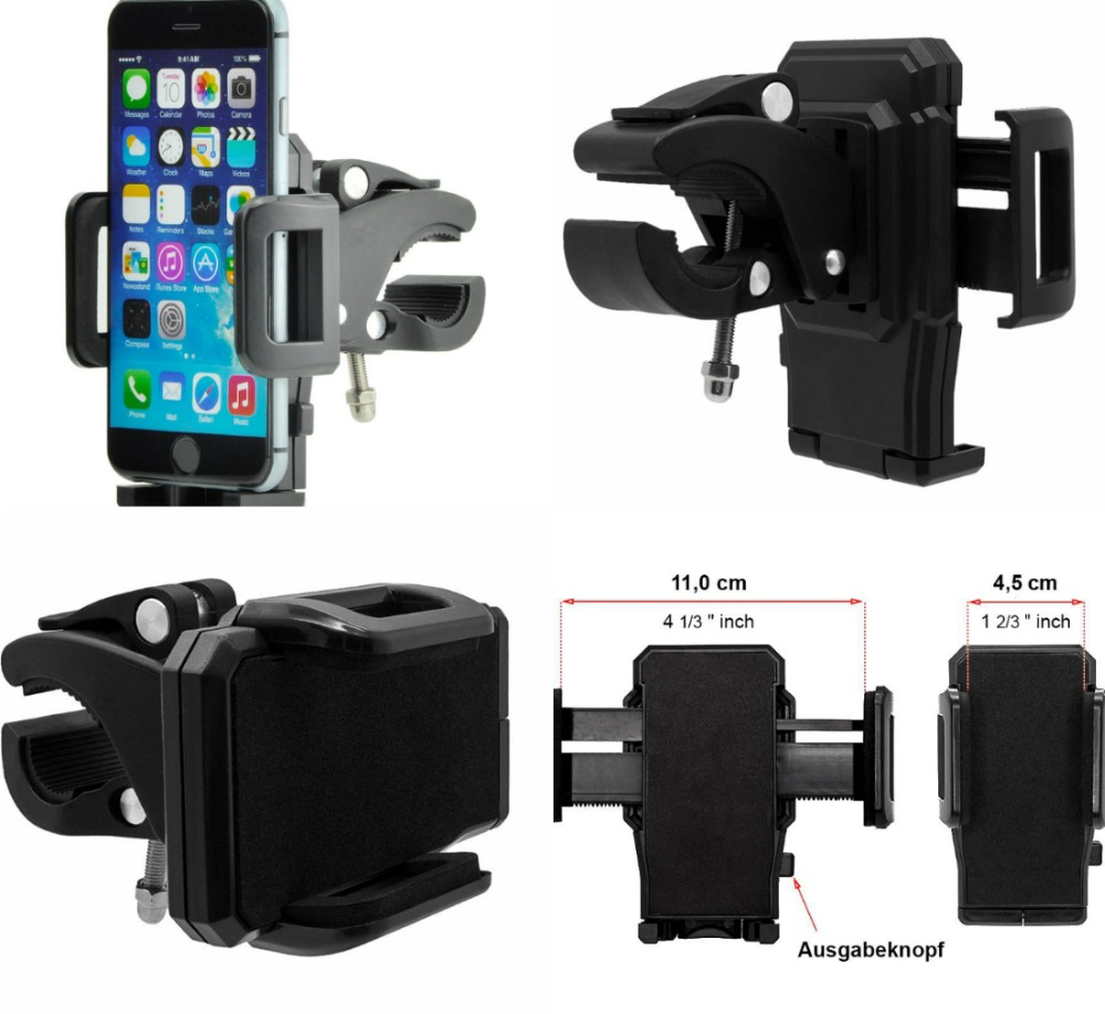 bike Motor Mobile Phone Holder For ASUS Zenfone 2 Laser Max Cellphone Handlebar Bicycle Motorcycle Gps Stand Mount Free Shipping(China (Mainland))