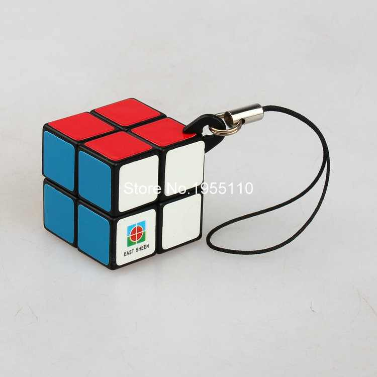 Eastsheen 2X2X2 Speed Cube magic puzzle for kids children grown up toys for kids With Mobile Phone Rope(China (Mainland))