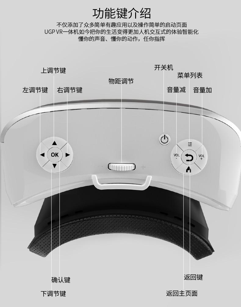 ถูก 2016ใหม่VR 3d 1080 Pglassesหนึ่งหัวประเภทความจริงเสมือนโรงภาพยนตร์เกมหมวกกันน็อคVR WIFIในตัวบลูทูธ4.0
