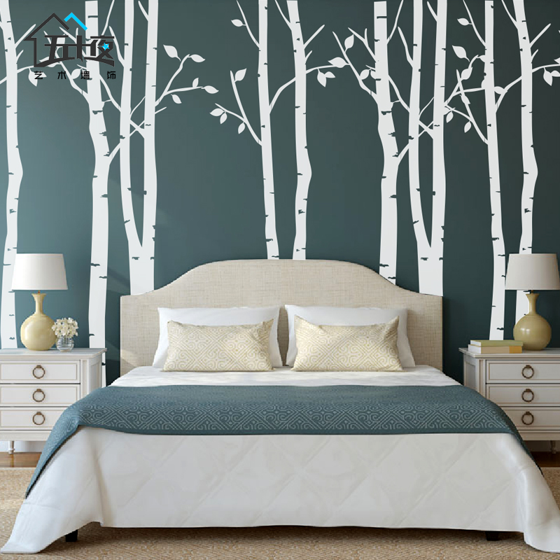 free shipping brief the tree tv background wall large wall stickers decoration stickers inwall. Black Bedroom Furniture Sets. Home Design Ideas