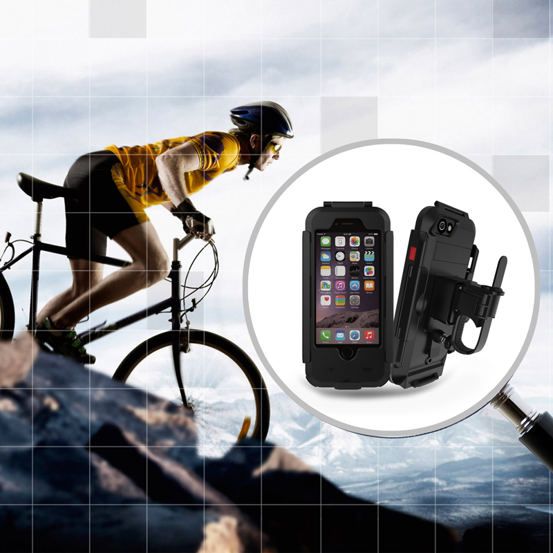 """4.7""""/5.5"""" Waterproof Outdoor Cycling Bracket Extended Bike Bicycle Multifunction Holder Stand for iPhone 5 6 6s 7 7plus(China (Mainland))"""