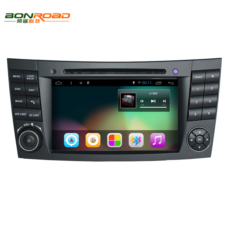 Quad Core Android 5.11024*600 Touch Screen Car DVD Player Mercedes/Benz E Class W211 W209 W219 3G WIFI Radio Stereo GPS - Bonroad Store store