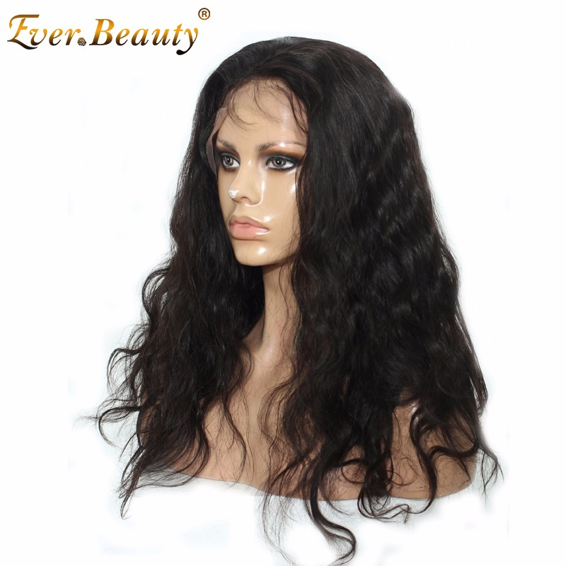 140% Lace Front Human Hair Wigs Black Women Brazilian Virgin Hair Body Wave Front Lace Wigs Full Lace Human Hair Wigs Looking