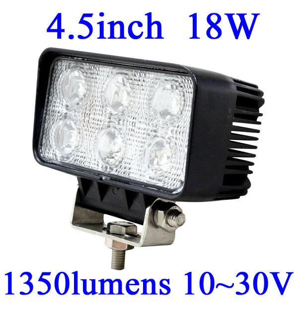 FOR JEEP 18W LED Work Light 1350 Lumen Offroad Driving Lamp 4.5inch   ATV,10-30V DC IP67 FLOOR BEAM cree led offroad led light