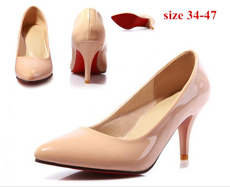 Туфли на высоком каблуке 2015 Zapatos de Vestir 13 FA1031 red bottom high heels cyabmoz genuine leather wedges platform high heels thick bottom women shoes woman height increasing zapatos mujer tenis feminino