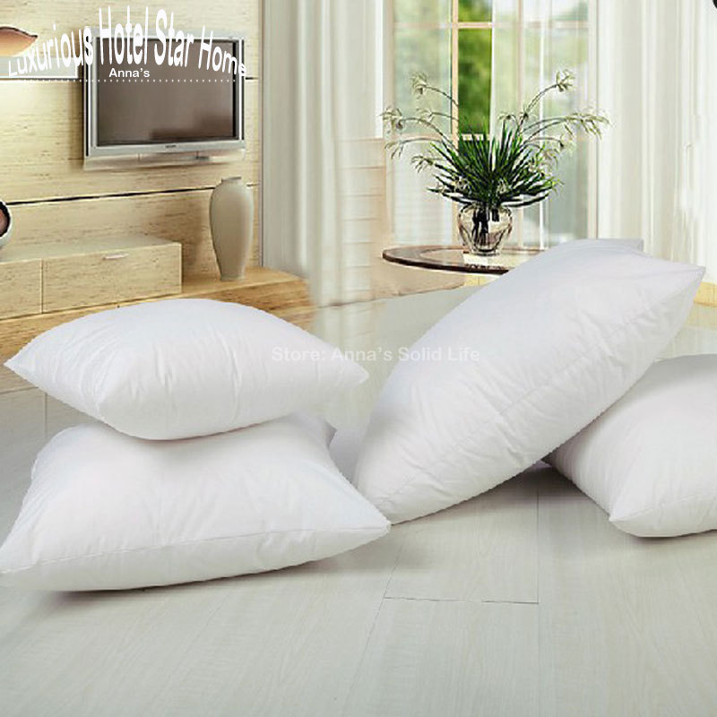 Free shipping Square Cushion inner insert Pillow core PP cotton filling Non-woven fabric 43*43/48*48/53*53cm Anna's Solid Life(China (Mainland))
