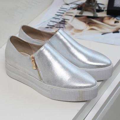 New ladies 2016 Women Fashion Casual Flats Women Preppy Sheepskin Low -Top Loafers for women<br><br>Aliexpress