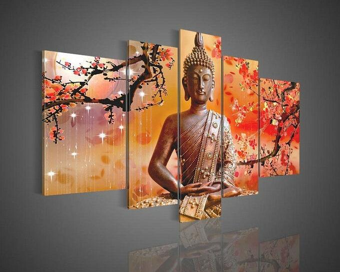 Vergelijk prijzen op Buddha Painting Canvas - Online winkelen ...