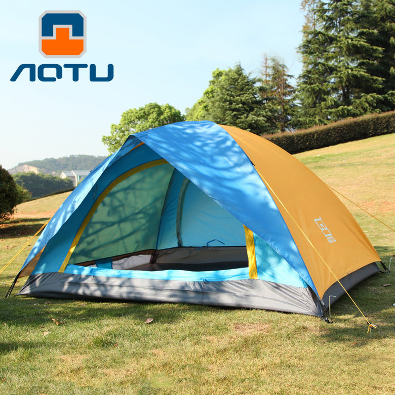 AOTU New Arrival Outdoor Portable Camping Tent for 2 Persons (Stock in USA)(China (Mainland))